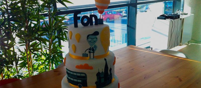 Happy 7th birthday Fon!