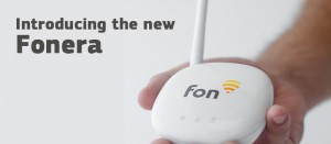facebook fonera in a hand | Fon
