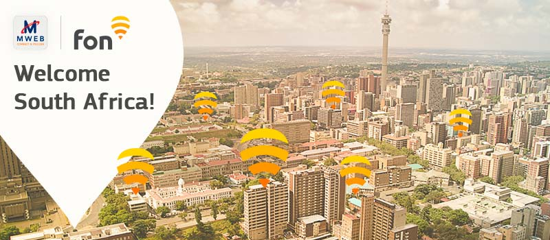 Charting new territory: South African MWEB is our new partner!
