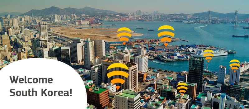 Say hello to KT, our new WiFi partner in South Korea!