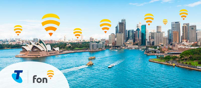 Fon to arrive in Australia! Telstra is our new partner