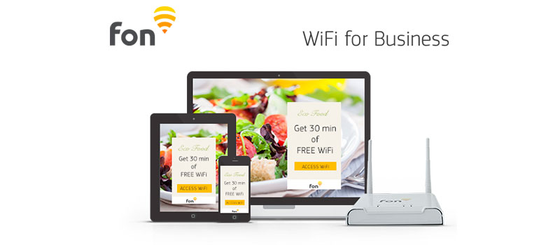 Fon introduces WiFi for Business