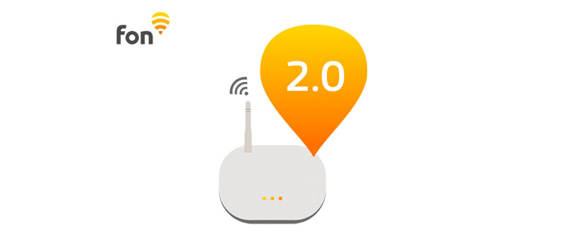 Fon Hotspot 2.0 Fonera router