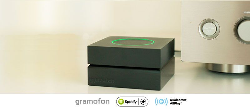 Gramofon + Qualcomm® AllPlay™