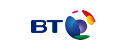 BT logo, one of Fon's investors.