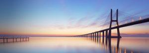 Landscape with a bridge | Fon
