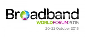 The logo for the Broadband World Forum event where Fon participated | Fon
