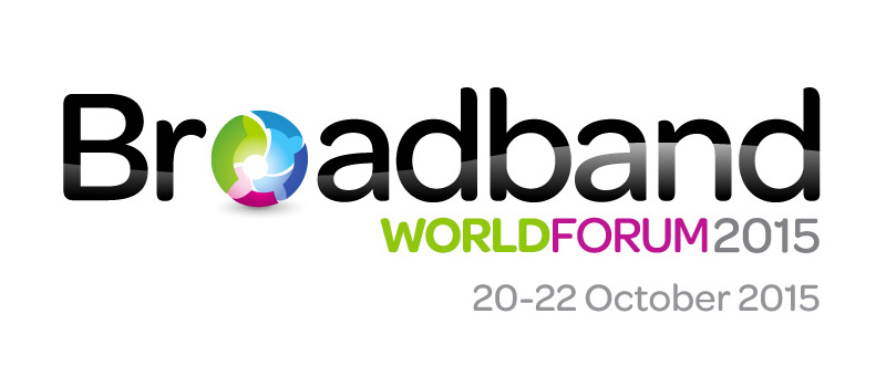 The logo for the Broadband World Forum event where Fon participated