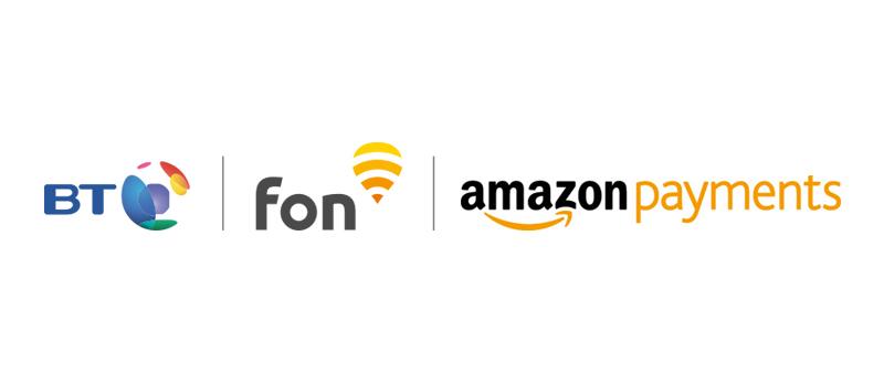 Three's Company! BT & Fon Launch Pay with Amazon