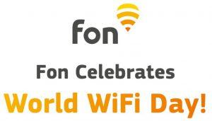 Fon Happy WiFi Day!   Fon