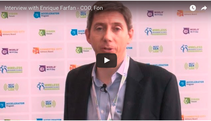 Interview: Fon at the Wireless Global Congress 2016