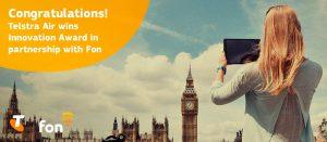 Telstra Fon win innovation award2016 | Fon
