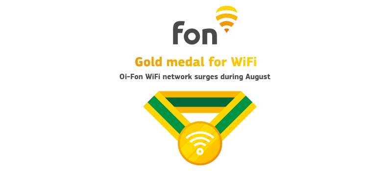 Gold medal for WiFi: Oi-Fon network surges in Brazil