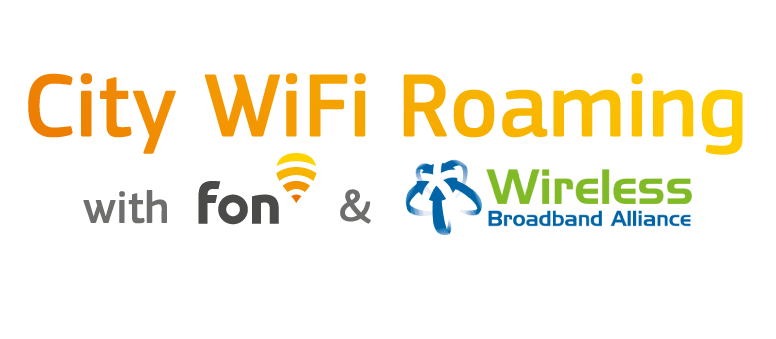 City WiFi: Roaming free with Fon & the Wireless Broadband Alliance