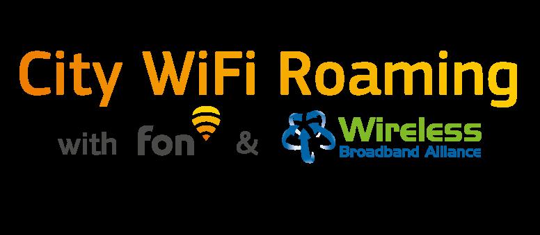 City WiFi Roaming Fon WBA