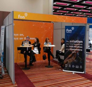 Team at Wi-Fi now 2016 | Fon