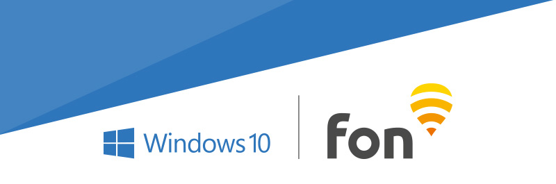 windows 10 and Fon | Fon