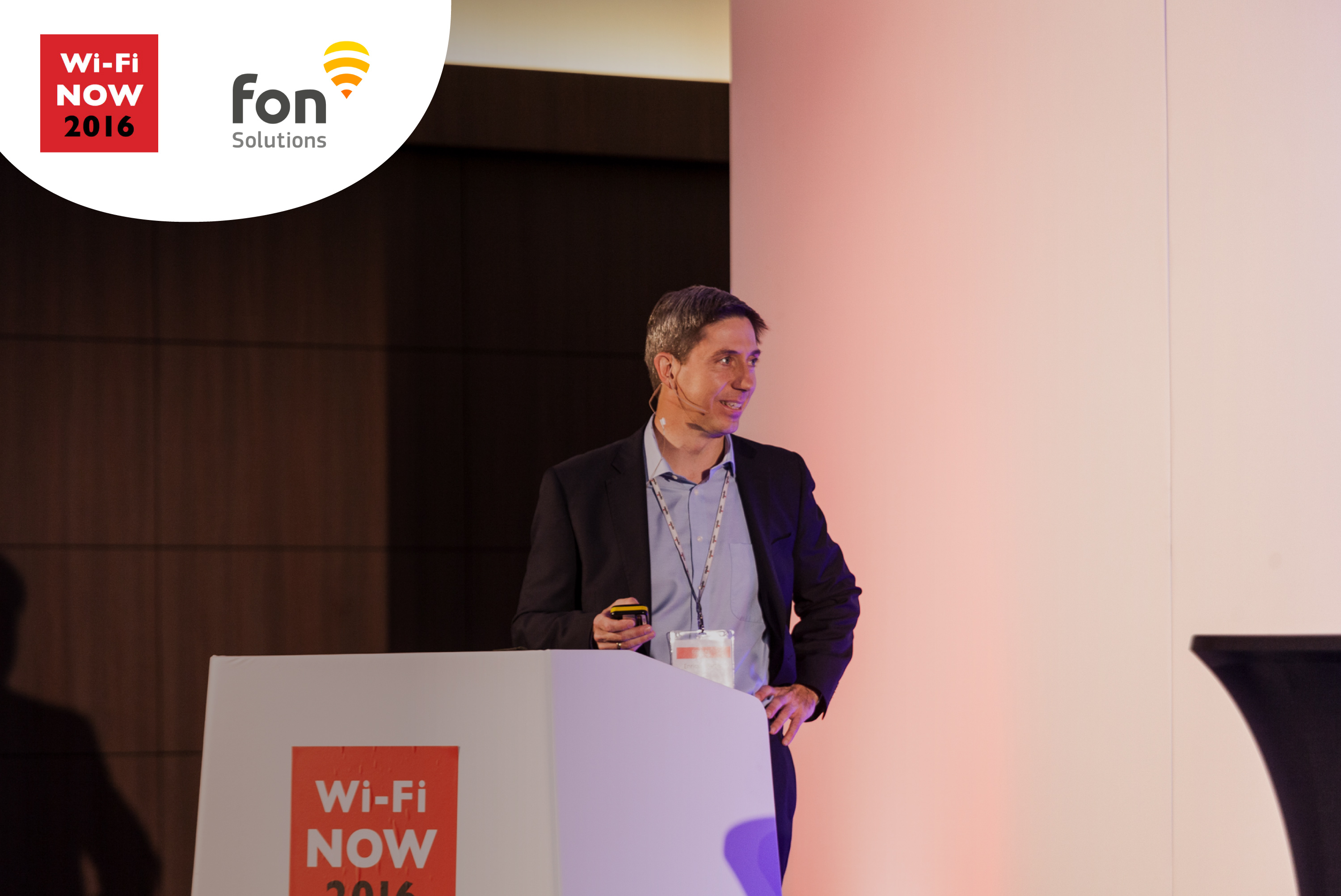 Fon presents Fon Solutions at Wi-Fi Now 2016 in London