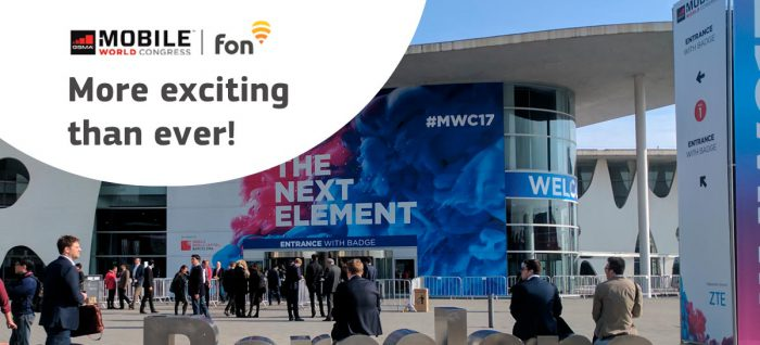 Fon at MWC 2017: This edition's highlights