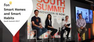 Fon participated in the Smart Homes panel at South Summit 2017 | Fon