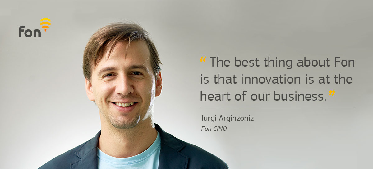 Fon CINO Iurgi shares his experience of #lifeatfon | Fon