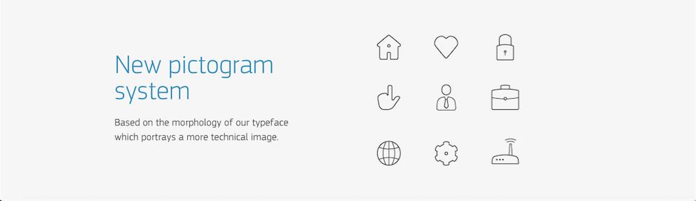 Fontech new pictogram system