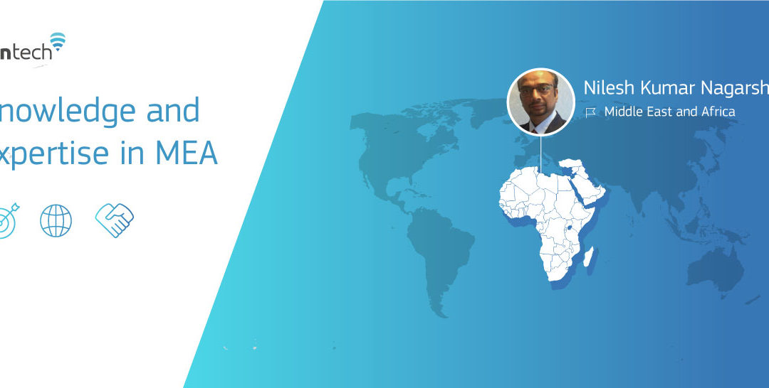 Nilesh Kumar Nagarsheth, Fontech's sales representative in MEA
