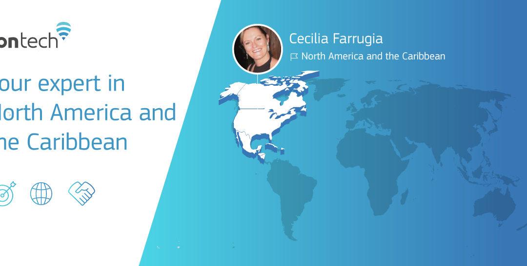 Cecilia Ferrugia, Fontech's sales representative in North America