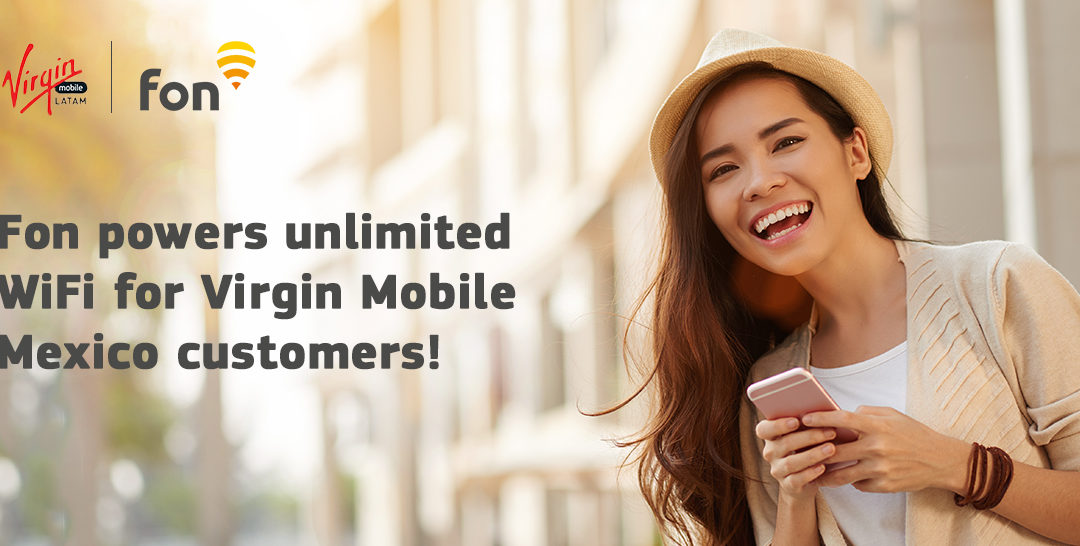 Virgin Mobile Mexico use Fon's SDK technology to enable WiFi access